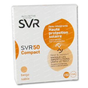 SVR 50 Compact Beige Sable SPF50+ 10 ml