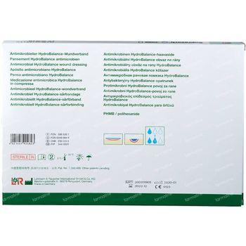 Suprasorb X PHMB Stérile 14 x 20cm 20542 5 pièces
