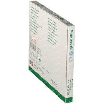 Suprasorb X Verband Cellulose 9cm x 9cm 5 stuks