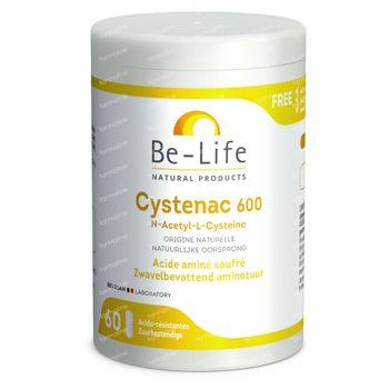 Be-Life Cystenac 600mg 60 capsules