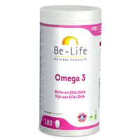 Be-Life Omega 3 500mg 180  kapseln