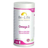 Be-Life Omega 3 500mg 180  capsules