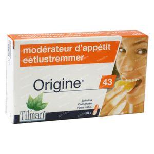 Origine 43 Eetlustremmer 28 capsules