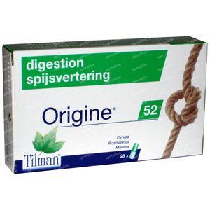 Origine 52 Spijsvertering 28 capsules