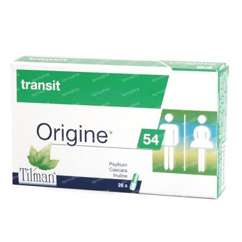 Origine 54 Transit 28 capsules