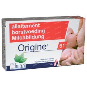Origine 61 Borstvoeding 28 capsules