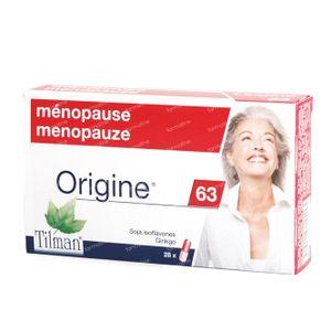Origine 63 Menopauze 28 capsules