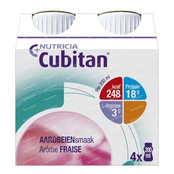 Cubitan Aardbei 800 ml