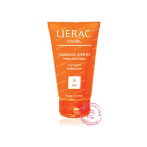 Lierac Lait Solaire UV 6 Visage 125 ml