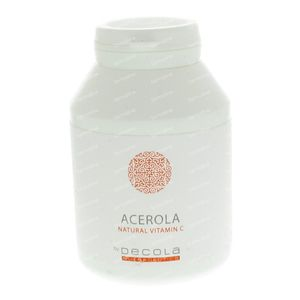 Decola Acerola 100 tablets