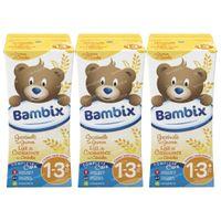 Bambix Lait de Croissance céréale 3x200 ml
