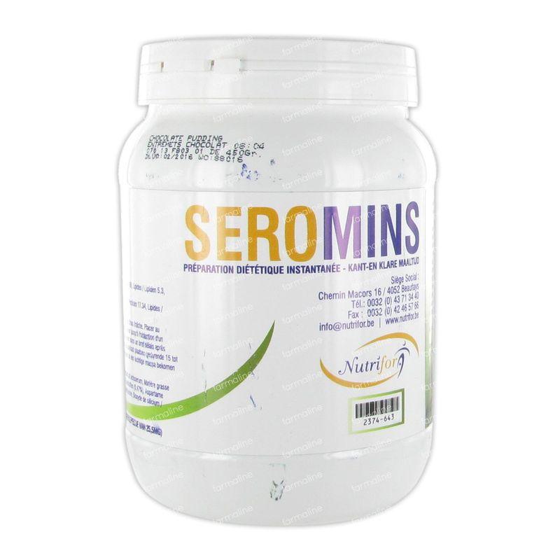 Seromins chocolat poudre 450 g commander ici en ligne - Coupe faim efficace et puissant en pharmacie ...