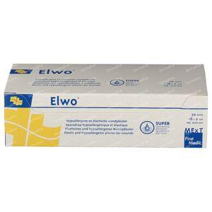 Elwo Sparadrap 18cm x 2cm 70 pièces