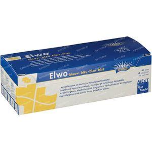 Elwo Plaster Elastic Blue 2.5cm x 18cm 60 pezzi