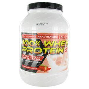 Whey Protein 100% Aardbei 750 g