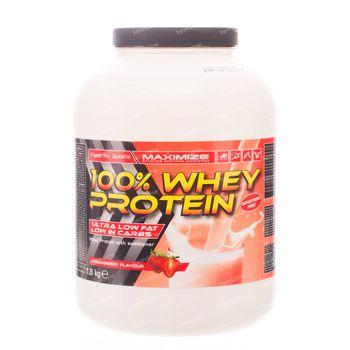 Whey Protein 100% Aardbei 1,80 kg