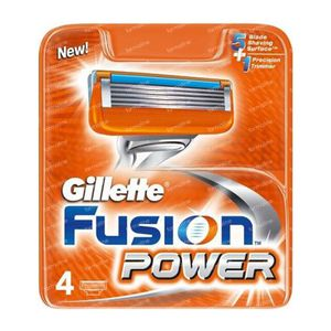 Fusion Power Razor Blades 4 St