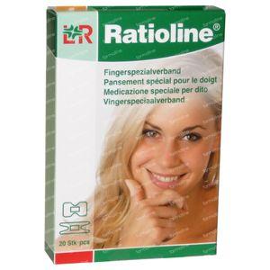 Ratioline Plaster Finger 2 Seizes 20 St Parches