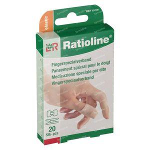 Ratioline Plaster Finger 2 Seizes 20 St Cerotti