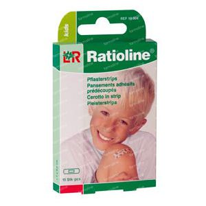 Ratioline Pans Enfant 15 pansements