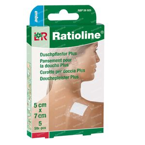 Ratioline Aqua Shower Plaster Sterile 5cm x 7cm 5  cerotti