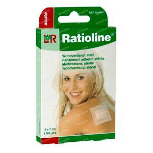 Ratioline Acute Plaster ADH Sterile 5cm x 7cm 5 St cerotti
