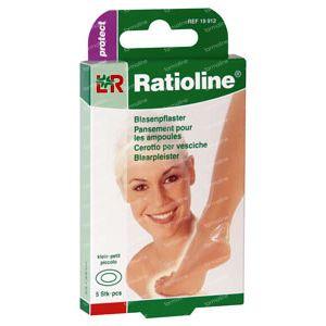 Ratioline Protect Blaarpleister Clayn 5 St cerotti