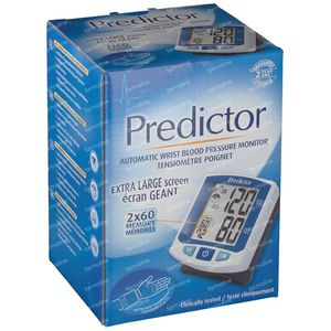 Predictor-sphygmomanometer for the wrist 1 item