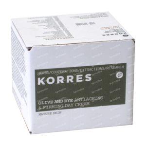 Korres Dagcrème Olive & Rye 40 ml