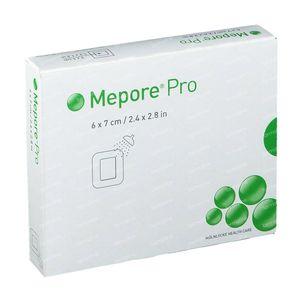 Mepore Pro Steriel Verband 6 x 7cm 10 stuks