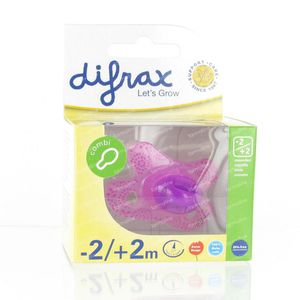 Difrax Pacifier Newborn Combi -2/+2m 1 pieza