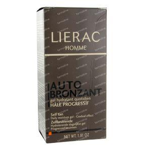 Lierac Homme Auto-Bronzante Gel Hydratant 50 ml