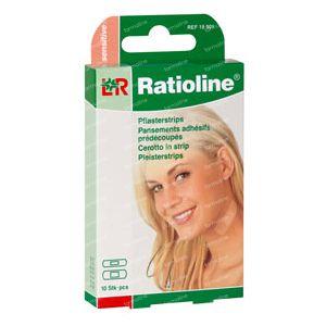 Ratioline Sensitive Plasterstrips 10 St vendas