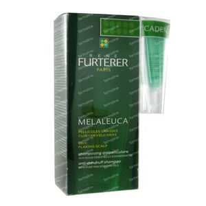 Rene Furterer Melaleuca Anti-Dandruff Shampoo Oily Flaking Scalp 150 ml