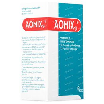 Aomix-G - Vitamine E et Huile d'Onagre pour le Confort Pendant les Règles 80 capsules