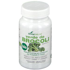 Soria Natural Verde De Broccoli 100 comprimés
