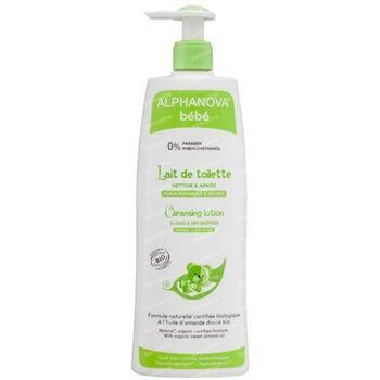 Alphaprotect Lait De Toilette Naturel & Bio 500 ml