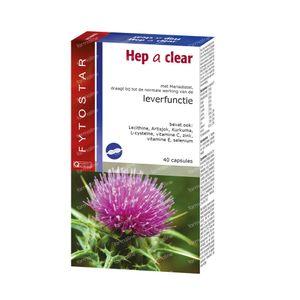 Fytostar Hep A Clear 40 St capsules