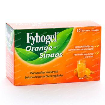Fybogel Sinaasappel 30 zakjes