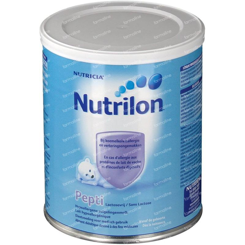 nutrilon pepti h a 1 sans lactose 450 g commander ici en. Black Bedroom Furniture Sets. Home Design Ideas