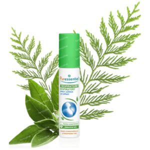 Puressentiel Ademhaling Luchtspray 19 Essentiële Oliën 20 ml spray