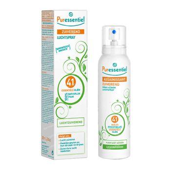 Puressentiel Luchtzuiverende Spray 41 Essentiële Oliën 200 ml spray