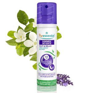 Puressentiel Sommeil Détente Spray Aérien 12 Huile Essentielle 75 ml spray