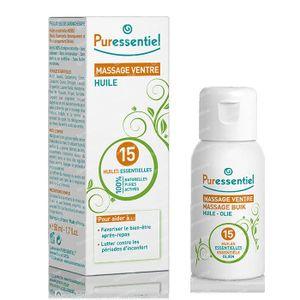 Puressentiel Buikpijn Massage 15 Essentiële Olie 50 ml