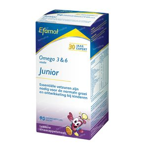Efamol Junior 90 kauwtabletten