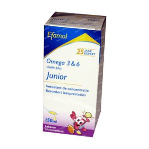 Efamol Junior Omega 3 & 6  150 ml siroop