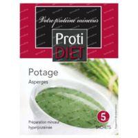 Protidiet Asperges Cream Soup Powder 5  beutel