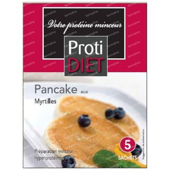Protidiet Crepe Myrtille Poudre 5 sachet
