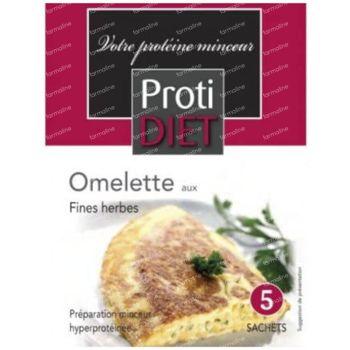 Protidiet Omelet Fines Herbes Poudre 5 sachet