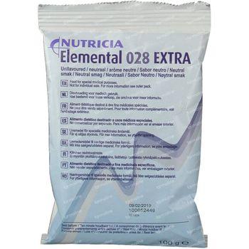 Nutricia Elemental 028 Extra Neutraal Zakje 10x100 g